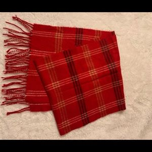 ✨ Red winter scarf ✨